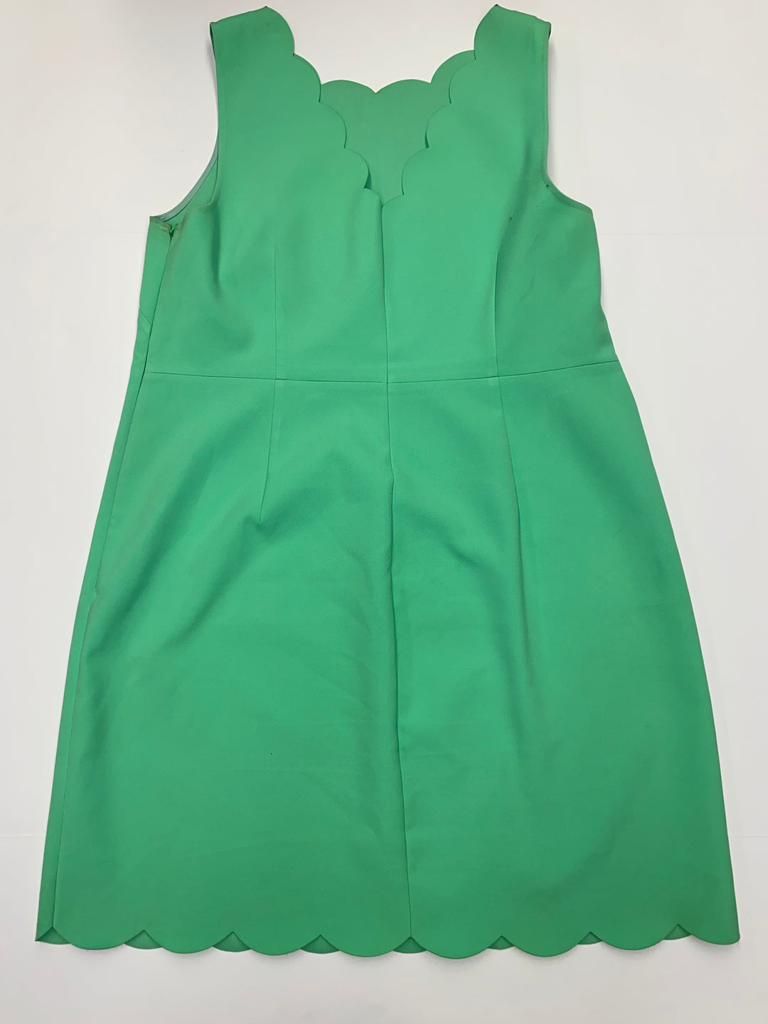 Photo #1 - BRAND: J CREW<BR>STYLE: DRESS SHORT SLEEVELESS<BR>COLOR: GREEN<BR>SIZE: 18<BR>SKU: 205-205280-3718