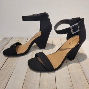 Primary Photo - BRAND: TORRID STYLE: SANDALS HIGH COLOR: BLACK SIZE: 8 SKU: 205-205250-75797. SIZE 8 WIDE.