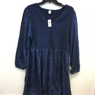 Primary Photo - BRAND: OLD NAVY STYLE: DRESS SHORT LONG SLEEVE COLOR: BLUE SIZE: 1X SKU: 205-205250-77709