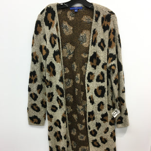 Primary Photo - BRAND: APT 9 STYLE: SWEATER CARDIGAN HEAVYWEIGHT COLOR: ANIMAL PRINT SIZE: L SKU: 205-205250-75413