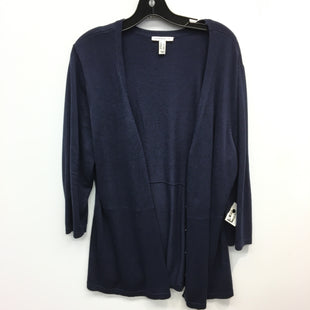 Primary Photo - BRAND: ISAAC MIZRAHI LIVE QVC STYLE: SWEATER CARDIGAN LIGHTWEIGHT COLOR: BLUE SIZE: L SKU: 205-205250-76066