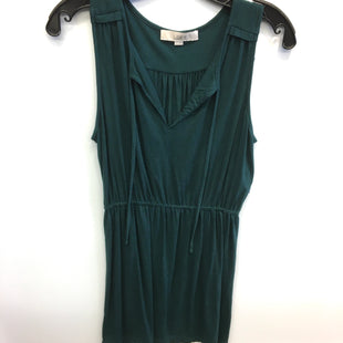 Primary Photo - BRAND: ANN TAYLOR LOFT STYLE: DRESS SHORT SLEEVELESS COLOR: GREEN SIZE: S SKU: 205-205250-71134