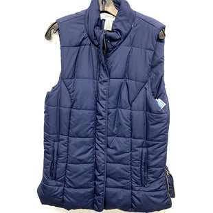 Primary Photo - BRAND: WORKSHOP STYLE: VEST DOWN COLOR: BLUE SIZE: XL SKU: 205-205299-9904