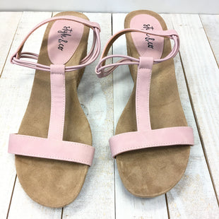 Primary Photo - BRAND: STYLE AND COMPANY STYLE: SANDALS LOW COLOR: PINK SIZE: 6 SKU: 205-205250-61793