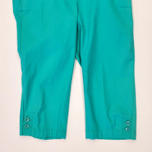 Primary Photo - BRAND: TALBOTS STYLE: CAPRIS COLOR: GREEN SIZE: 6 SKU: 205-205280-14238