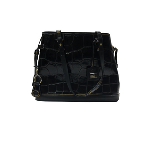 Primary Photo - BRAND: DOONEY AND BOURKE STYLE: HANDBAG DESIGNER COLOR: BLACK SIZE: LARGE OTHER INFO: DESIGNER SKU: 205-205318-2701