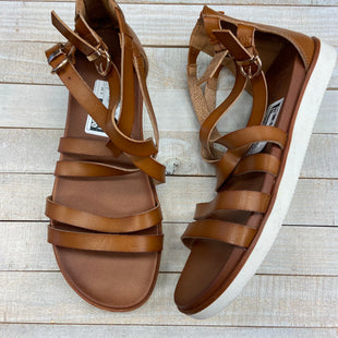 Primary Photo - BRAND: TORRID STYLE: SANDALS FLAT COLOR: BROWN SIZE: 10.5 SKU: 205-205299-14814