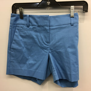 Primary Photo - BRAND: ANN TAYLOR STYLE: SHORTS COLOR: BLUE SIZE: 0 SKU: 205-205299-15826