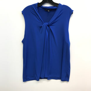 Primary Photo - BRAND: CABLE AND GAUGE STYLE: TOP SLEEVELESS COLOR: BLUE SIZE: 2X SKU: 205-205250-75774