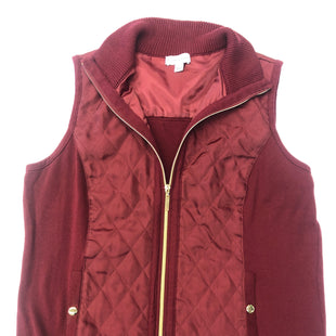 Primary Photo - BRAND: SUSAN GRAVER STYLE: VEST COLOR: RED SIZE: L SKU: 205-205318-275