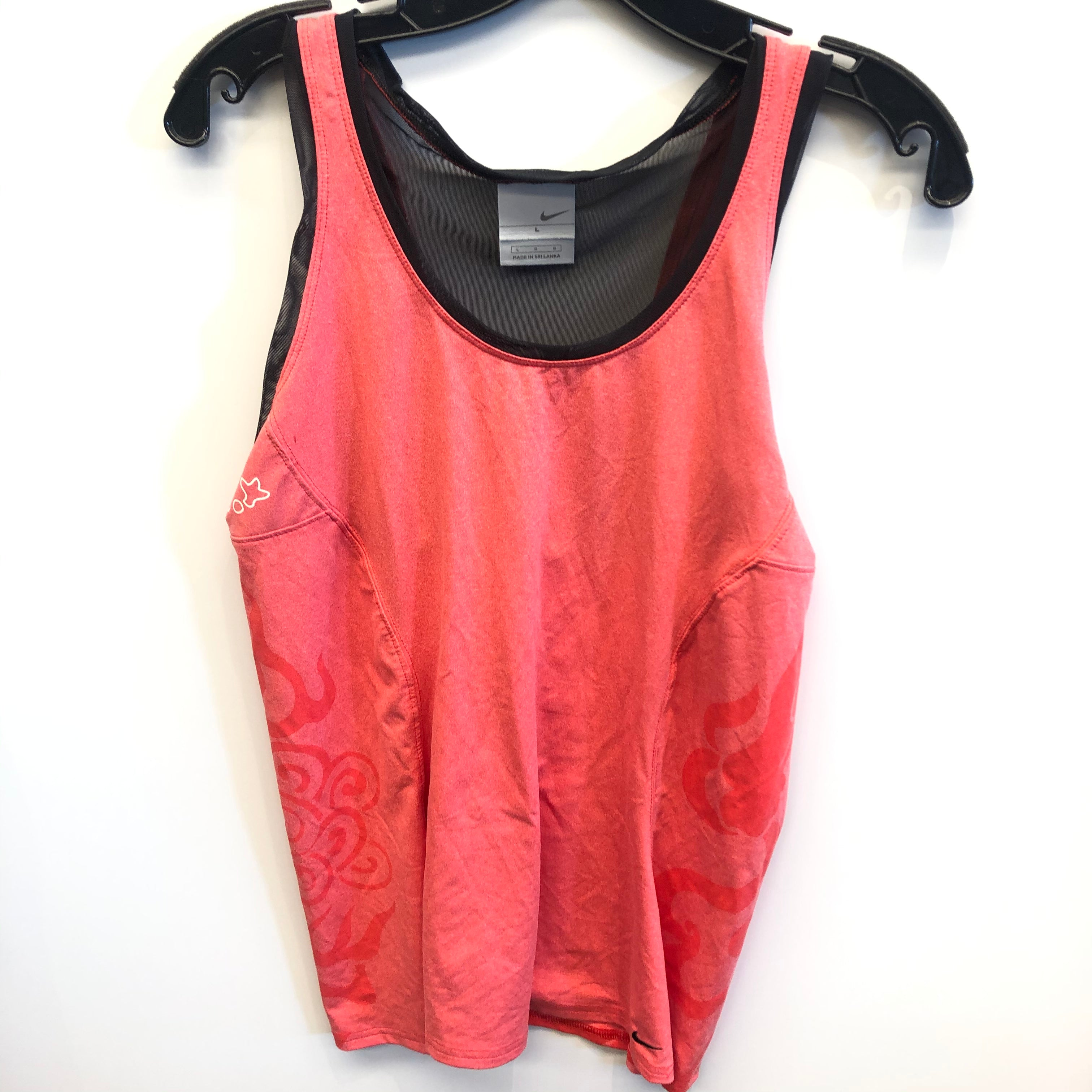 Primary Photo - BRAND: NIKE <BR>STYLE: ATHLETIC TANK TOP <BR>COLOR: PINK <BR>SIZE: L <BR>SKU: 205-205283-1576