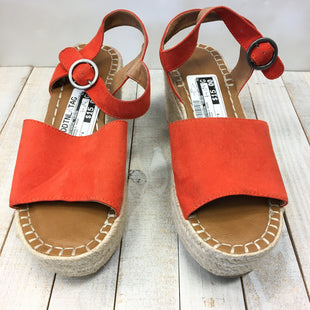 Primary Photo - BRAND: UNIVERSAL THREAD STYLE: SANDALS HIGH COLOR: ORANGE SIZE: 8 SKU: 205-205299-13987