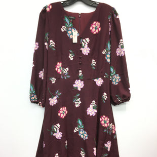 Primary Photo - BRAND: TALBOTS STYLE: DRESS LONG LONG SLEEVE COLOR: FLORAL SIZE: 10 SKU: 205-205250-69964