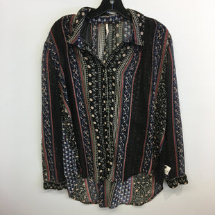 Primary Photo - BRAND: FREE PEOPLE STYLE: TOP LONG SLEEVE COLOR: MULTI SIZE: M SKU: 205-205318-3846