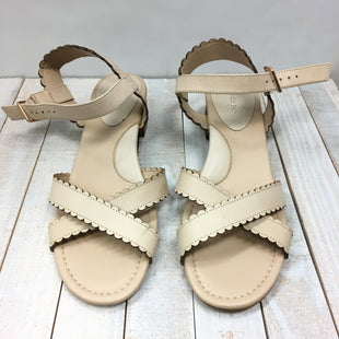 Primary Photo - BRAND: LANDS END STYLE: SANDALS LOW COLOR: BEIGE SIZE: 8.5 SKU: 205-205299-15489