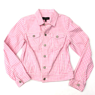 Primary Photo - BRAND: TALBOTS STYLE: JACKET OUTDOOR COLOR: WHITE PINK SIZE: XS SKU: 205-205250-40808
