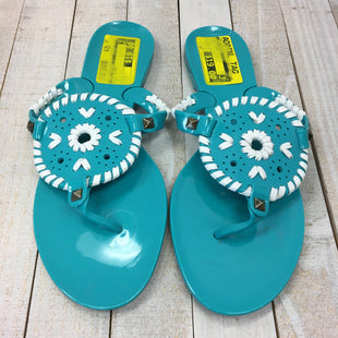 Primary Photo - BRAND: JACK ROGERS STYLE: FLIP FLOPS COLOR: TEAL SIZE: 7 SKU: 205-205250-66691