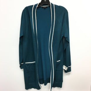 Primary Photo - BRAND: VERVE AMI STYLE: SWEATER CARDIGAN LIGHTWEIGHT COLOR: TEAL SIZE: XL SKU: 205-205330-79