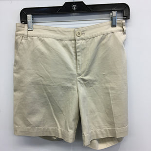 Primary Photo - BRAND: AMERICAN LIVING STYLE: SHORTS COLOR: KHAKI SIZE: 10 SKU: 205-20583-14853