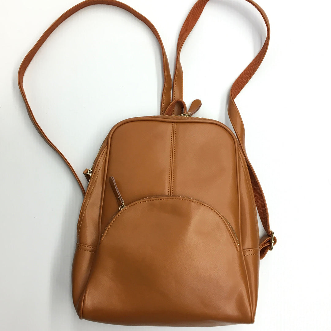 Primary Photo - BRAND:    CLOTHES MENTOR <BR>STYLE: BACKPACK <BR>COLOR: TAN <BR>SIZE: MEDIUM <BR>OTHER INFO: AVBER - <BR>SKU: 205-205250-77732