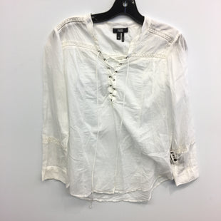 Primary Photo - BRAND: PAIGE STYLE: TOP LONG SLEEVE COLOR: WHITE SIZE: M SKU: 205-205318-3885