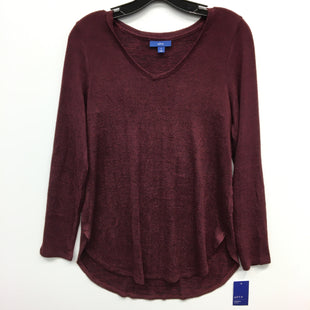 Primary Photo - BRAND: APT 9 STYLE: TOP LONG SLEEVE COLOR: MAROON SIZE: S SKU: 205-205318-3396