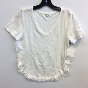 Primary Photo - BRAND: STELLA AND DOT STYLE: TOP SHORT SLEEVE COLOR: WHITE SIZE: S SKU: 205-205250-75899