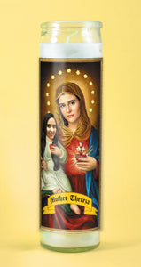 THE MOTHER Customized Prayer Candle - Mother Family Candle - Funny Pet Gift - Novena Candle - Pet Prayer Candle - Go Saint Yourself
