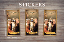 Load image into Gallery viewer, HOLY FAMILY - Personalized Sticker - Pack of 3 Identical Stickers - JUST THE STICKER