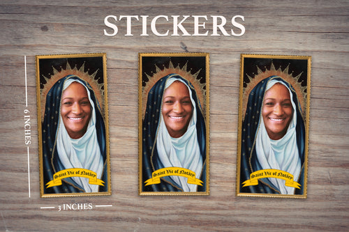 THE SISTER - Personalized Sticker - Pack of 3 Identical Stickers - JUST THE STICKER