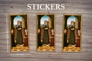 HOLY TRINITY - Personalized Sticker - Pack of 3 Identical Stickers - JUST THE STICKER