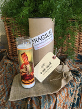 Load image into Gallery viewer, HOLY FAMILY Prayer Candle - 3 person Custom Prayer Saint Candle - Family Prayer Candle - Pet Loss Gift - Pet Memorial Candle - Pet Sympathy