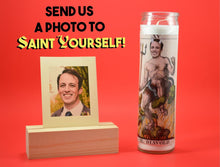 Load image into Gallery viewer, THE DEVIL Custom Prayer Candle ~ Satan Candle - Funny Prayer Candle - Saint Your Pet - Parody Candle - Prank Gift