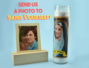 THE SISTER Custom Prayer Candle - Saint Candle for Her - Hilarious Birthday Gift - Funny Gifts for Her - Sister Birthday Gift - Nun Candle