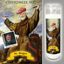 Load image into Gallery viewer, THE BROTHER - Custom Pet Saint Candle - Pet Prayer Candle - Funny Prayer Candle - Funny Gift - Gift for Dog Owner - Gift for Cat Owner