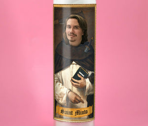 THE MARTYR Custom Prayer Candle - Personalized Prayer Candle - Funny Saint Candle - Revenge Gift - Funny Divorce Gift - Breakup Gift
