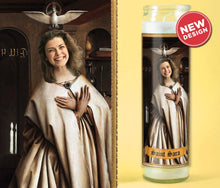 Load image into Gallery viewer, SAINT OF PEACE Custom Saint Candle - Funny Gift for Her - Personalized Valentines Gift - Angel Candle - Gift for Girlfriend