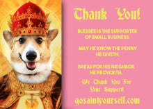 Load image into Gallery viewer, JESTER SAINT OF FLATULENCE Custom Prayer Saint Candle - Funny Birthday Gift - Fart Candle - Fool Prayer Candle - Flatulent - Farting