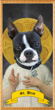 Load image into Gallery viewer, THE HOLY PET Custom Prayer Saint Candle - Dog Prayer Candle - Cat Worship - Pet Memorial - Pet Devotional - Novena - Pet Memory Gift