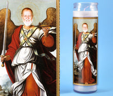 Load image into Gallery viewer, ANGEL WITH SWORD Custom Prayer Candle ~ Angelic Candle - Funny Prayer Candle - Warrior