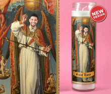 Load image into Gallery viewer, THE ARCHANGEL Custom Prayer Candle - Personalized Prayer Candle - Funny Saint Candle - Judge Law Judicial - Archangel Michael - Renaissance