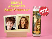Load image into Gallery viewer, TWO WOMEN Saints - Customized Prayer Candle - Funny Mother and Daughter Gift - Mom and Daughter - Sisters - Mothers Day Candle