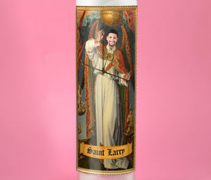 THE ARCHANGEL Custom Prayer Candle - Personalized Prayer Candle - Funny Saint Candle - Judge Law Judicial - Archangel Michael - Renaissance