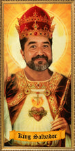 Load image into Gallery viewer, THE KING - Customized Prayer Candle - Personalized Devotional Candle - Funny Saint Candle - El Rey Regalo  - Saint Yourself