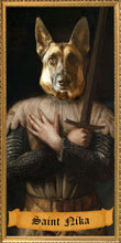 Load image into Gallery viewer, THE KNIGHT Custom Pet Prayer Candle - Dog Prayer Candle - Funny Saint Candle - Funny Pet Gift - Pet Owner - Dog Candle