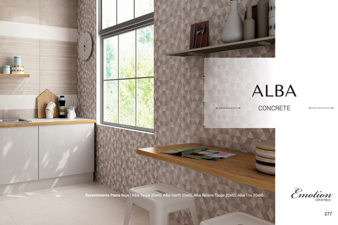 Alba marfil, gris end trio 20x60 Emotion bathroom wall tiles