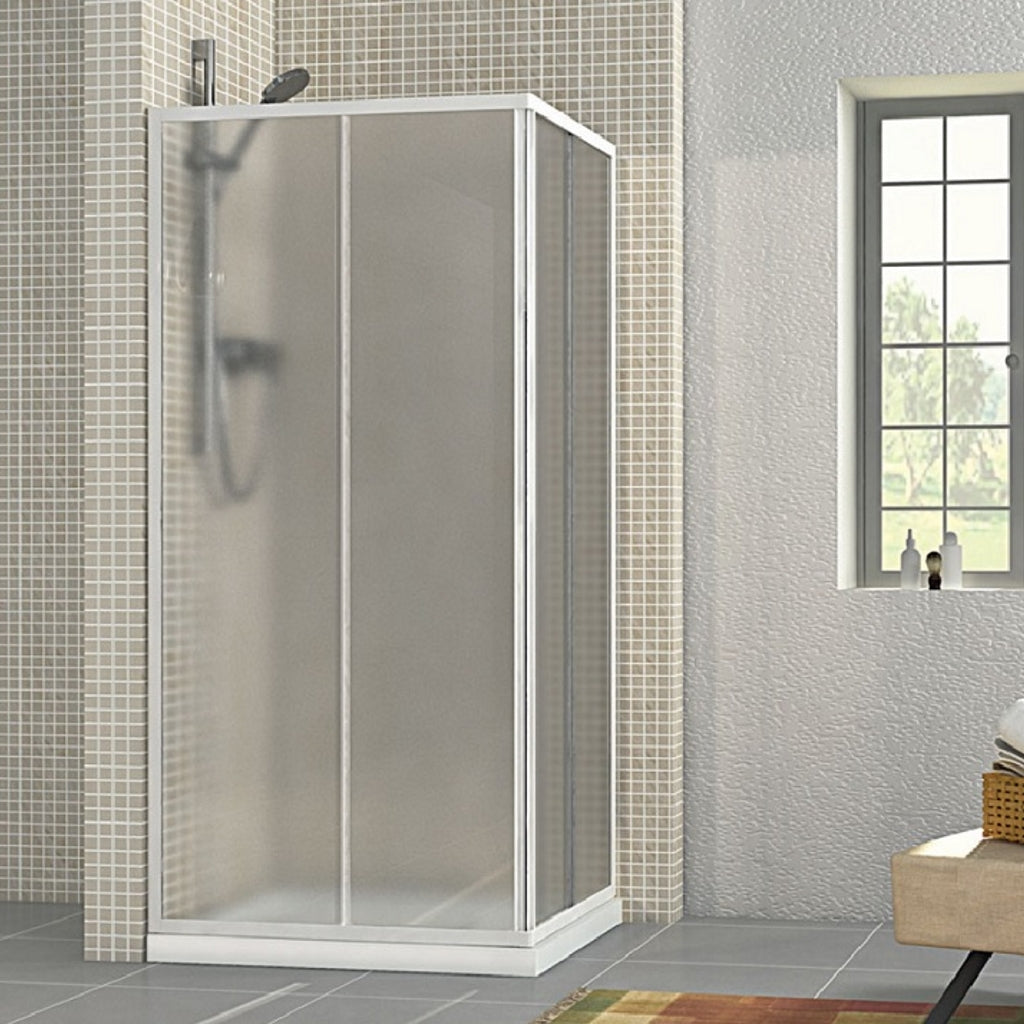 90x70 Shower Enclosure 2 Sliding Doors Smeraldo