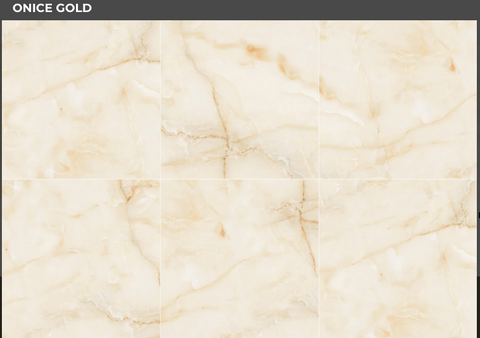 Floor Porcelain stoneware Honed ONICI Gold Onyx Format 60X120 rectified VIA ROMA