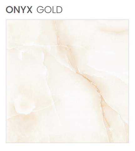 Polished floor FINISH Onyx Gold Porcelain stoneware Size 60X60 rectified ITACA