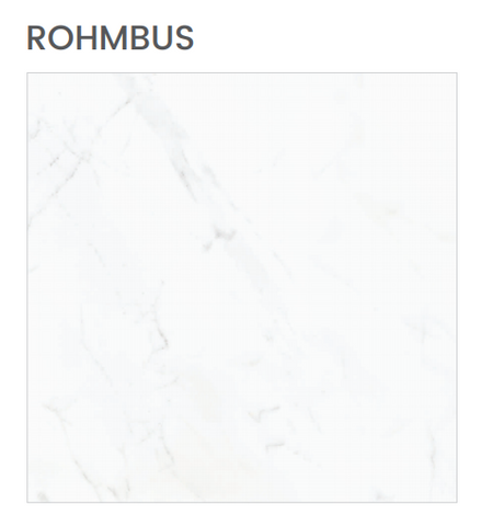 Floor Porcelain Gres Polished FINISH RHOMBUS Format 80X80 Rectified ITACA